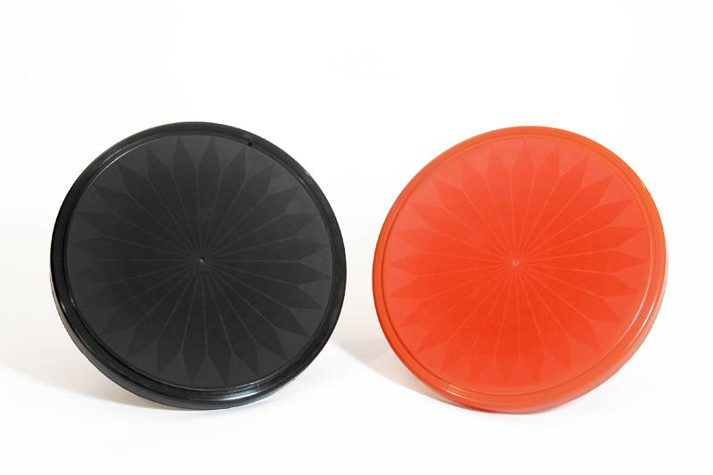 Round plastic Seat Flower Motif - Plastic Molding From Italy