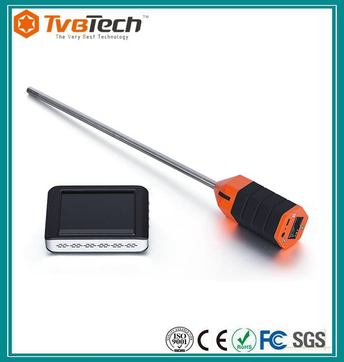 Supply side view inspection camera for insulation wall