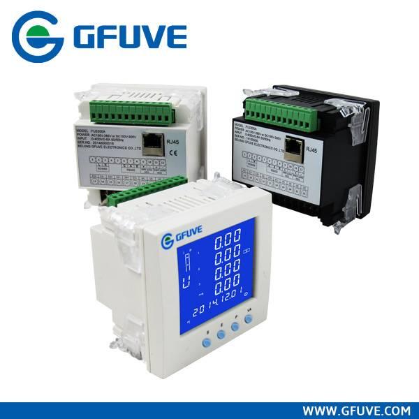 FU2200A Three phase Ethernet digital power meter