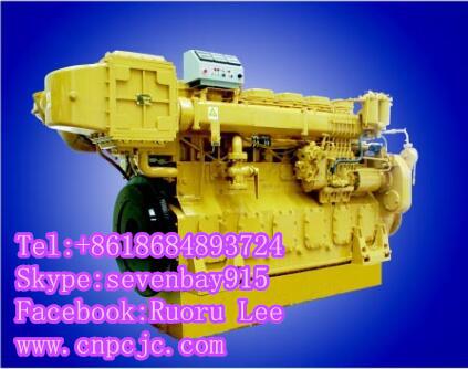 6190ZLC 6 in-line marine diesel engines(330~540KW)