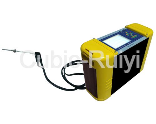 NDIR Portable Combustion Efficiency Analyzer Gasboard 3400P