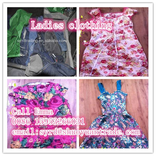 Second-hand ladies clothes for resale