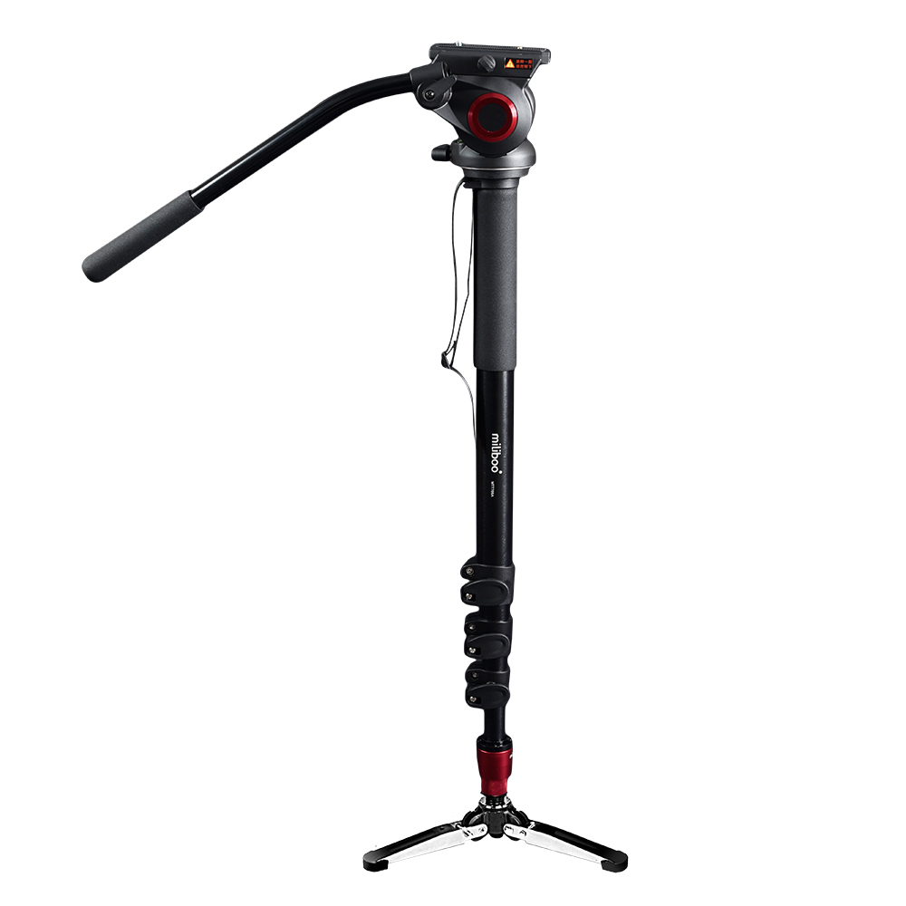 Special offers miliboo MTT705A Professional Aluminum Portable Camera Tripod with Hydraulic Head mono