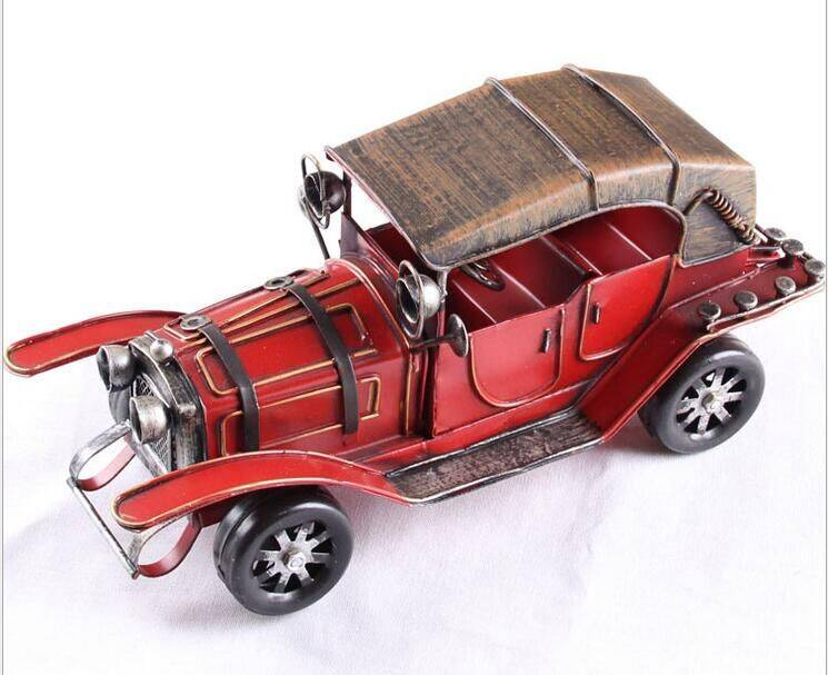 handmade metal car model