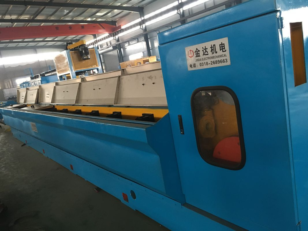 JD-450/13D Copper Rod Breakdown Machine For Cable Manufacturing