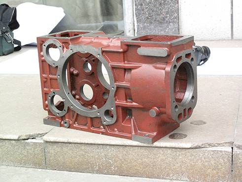 Diesel engine part S195-1100 Cylinder Block