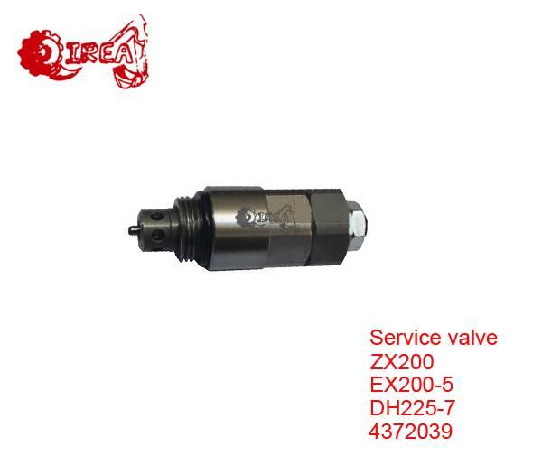 E200B Relief Valve for Excavator Service Valve EX200-5 E200B HD1250-5 HD1250-7 Service Relief Valve