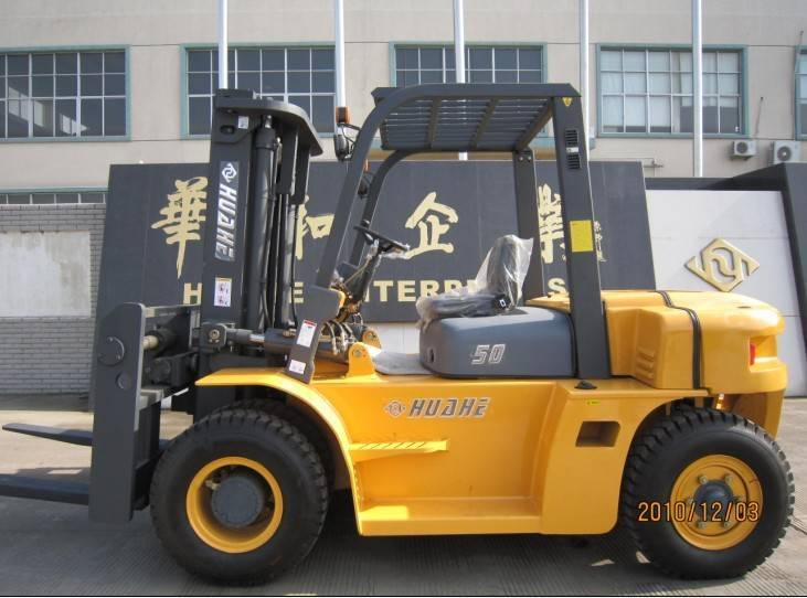 Huahe 5T Diesel Forklift (HH50Z-N6-D) with CHAOYANG6102