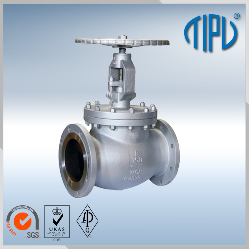 A217-C5/WC6/WC9 butt welded globe valve