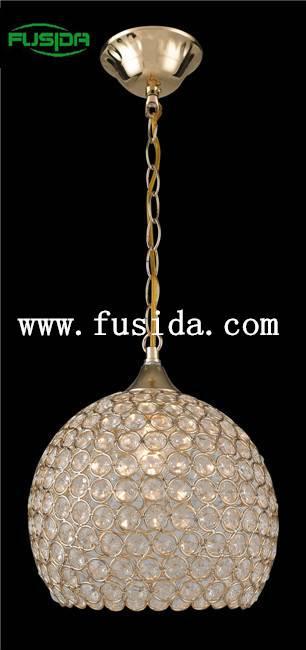 Bohemian crystal antler pendant light D-9466/1