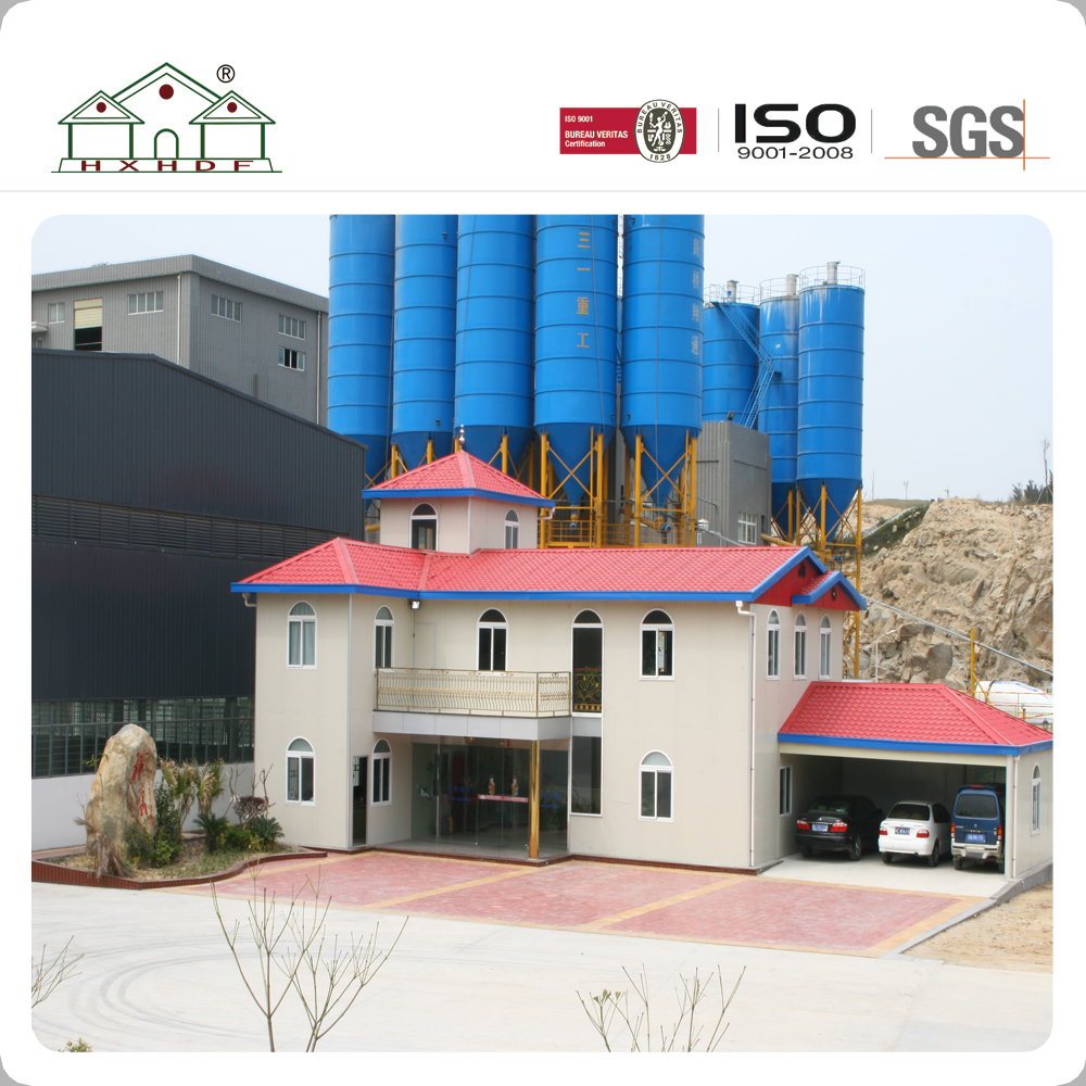 Made in China Light Steel Structure Prefab Villa