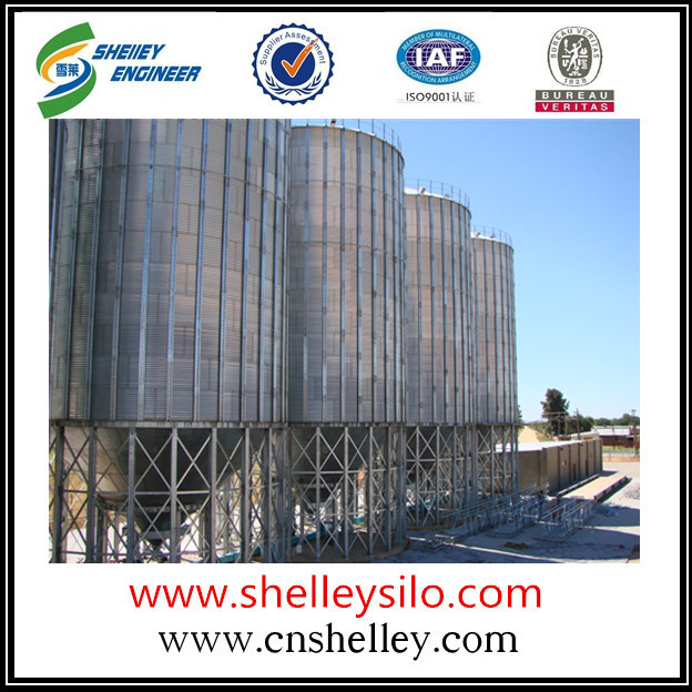 1000t Hopper Bottom Steel Silo For sale