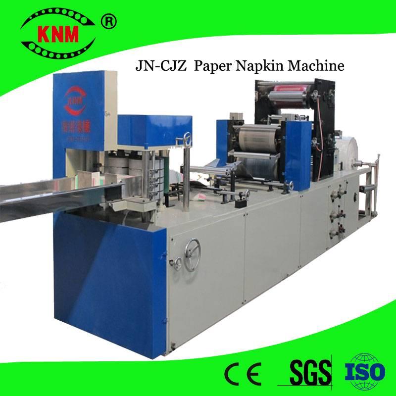 High speed printing/embossing napkin machine