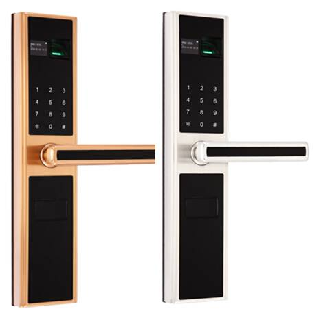 Detachable Handle Access Control Fingerprint Digital Door Lock with High quality and Top security
