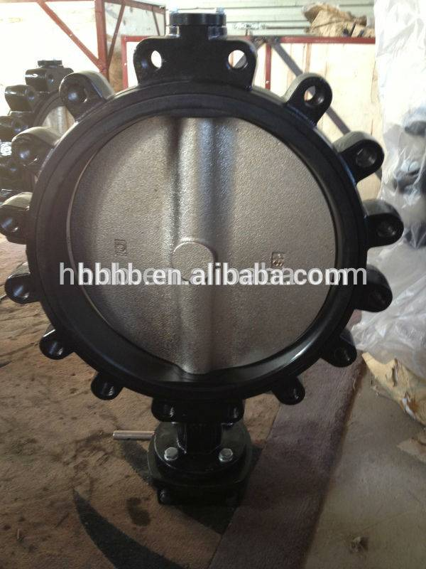 Split Stem Lug type Butterfly Valve dn200