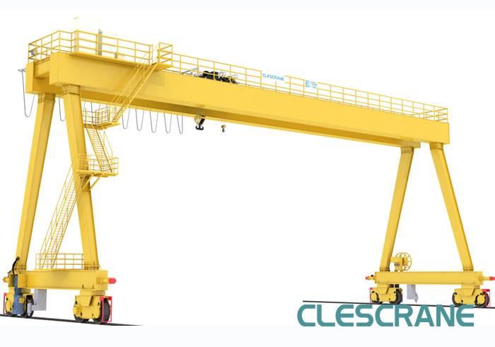 CWG Series China top design mobile double girder goliath gantry crane