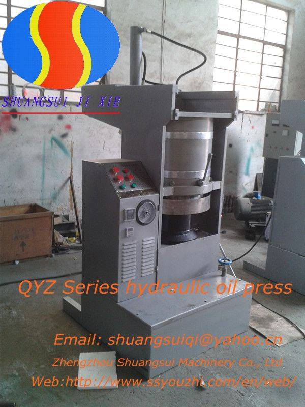 Hydraulic Cocoa bean Oil Press Machine