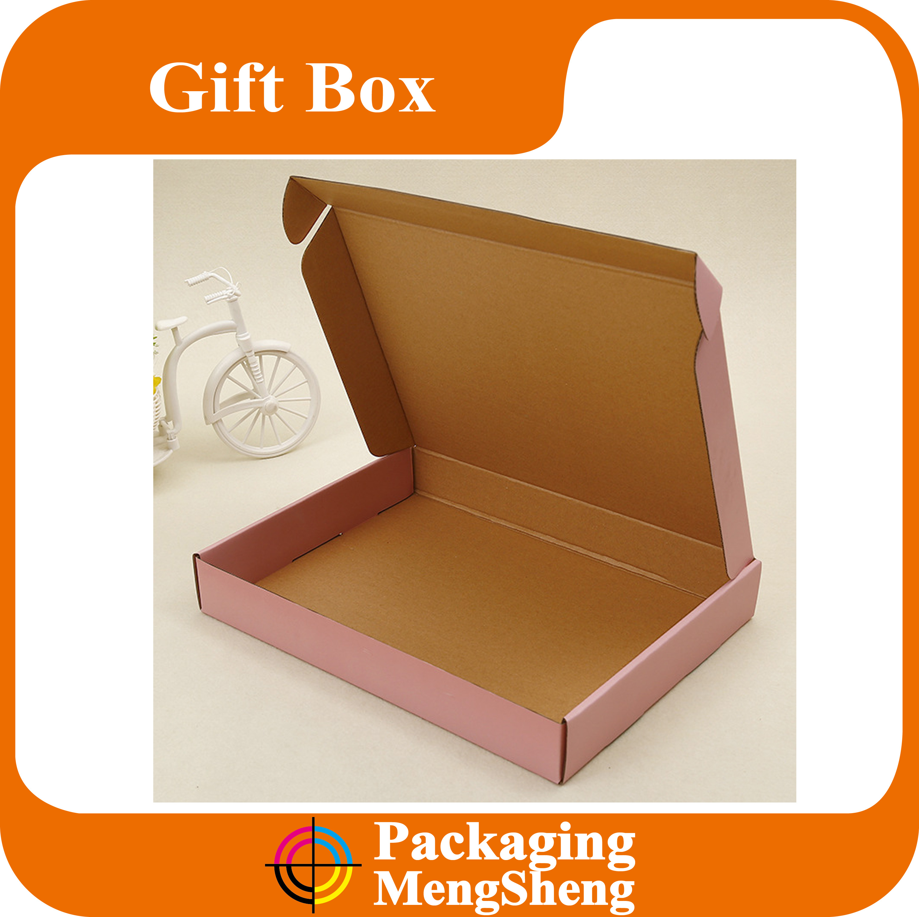 Kraft Tuck Top Corrugated Postage Mailing Boxes