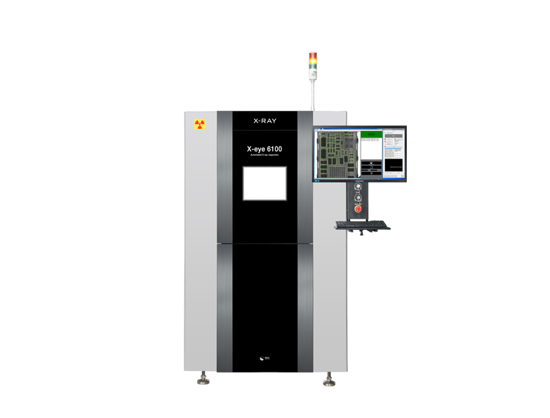 X-Ray Inspection System: X-eye 6100 from South Korea