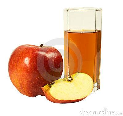 Apple juice concentrate with high quality