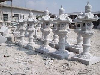 grey lighthouse sculpture