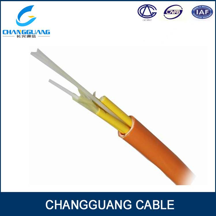 Gjbfjv Breakout Tight Buffer Fiber Optic Cable Waterproof Fiber Cable Multi Purposes Multi Modes Mul