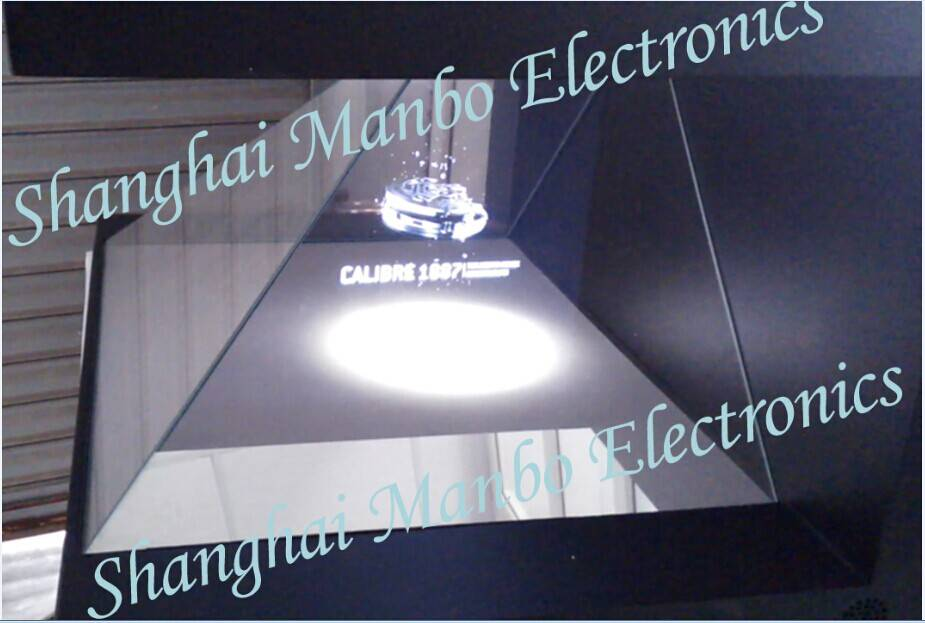 3D 270 degrees Holographic Projection Screen