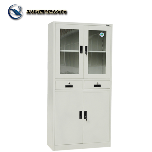 Laboratory used steel 4 door chemical reagent storage cabinet
