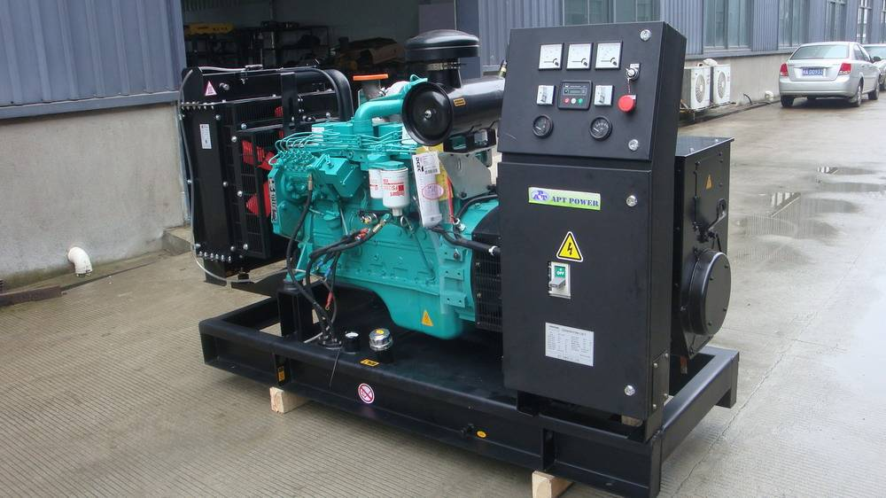 120kW Cummins Diesel Generator with Automatic Transfer Switch