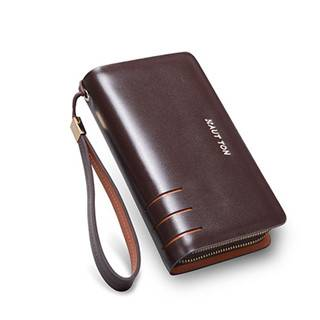 Hautton 2016 Fashion Leather Clutch Bag men SZB19
