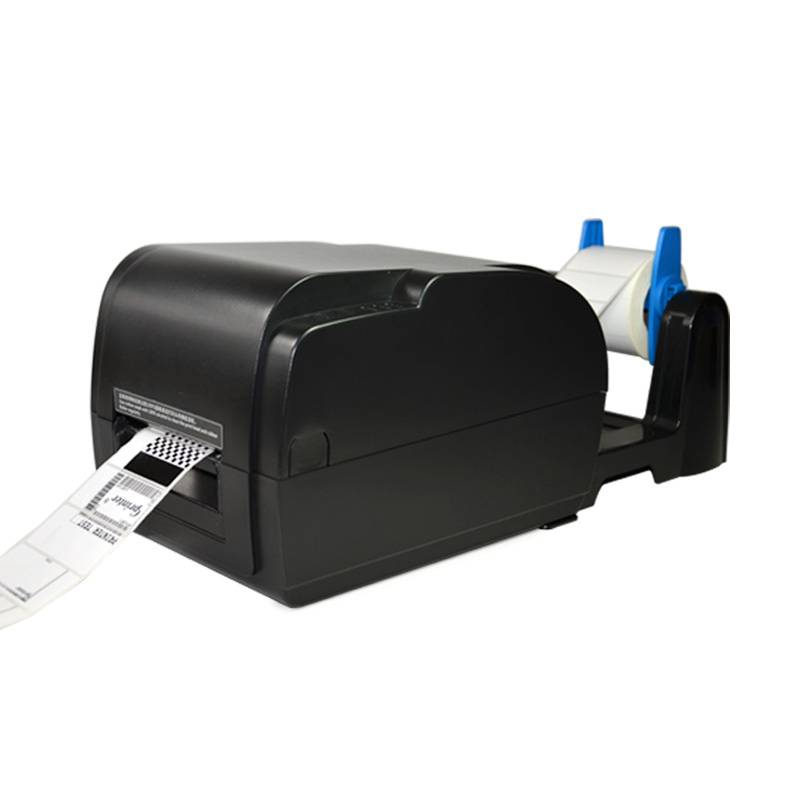 wired thermal transfer barcode printer with HD 300DPI GP-9035T dedicated to print clothing marks jew