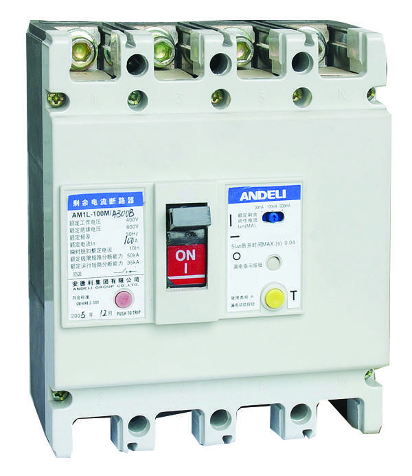 AM1L Series Earth Leakage Circuit Breaker