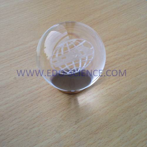 Top Quality K9 3D Laser Engraved Crystal Ball