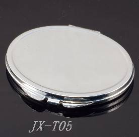 Simple Compact Mirror Customized Promotion Gift