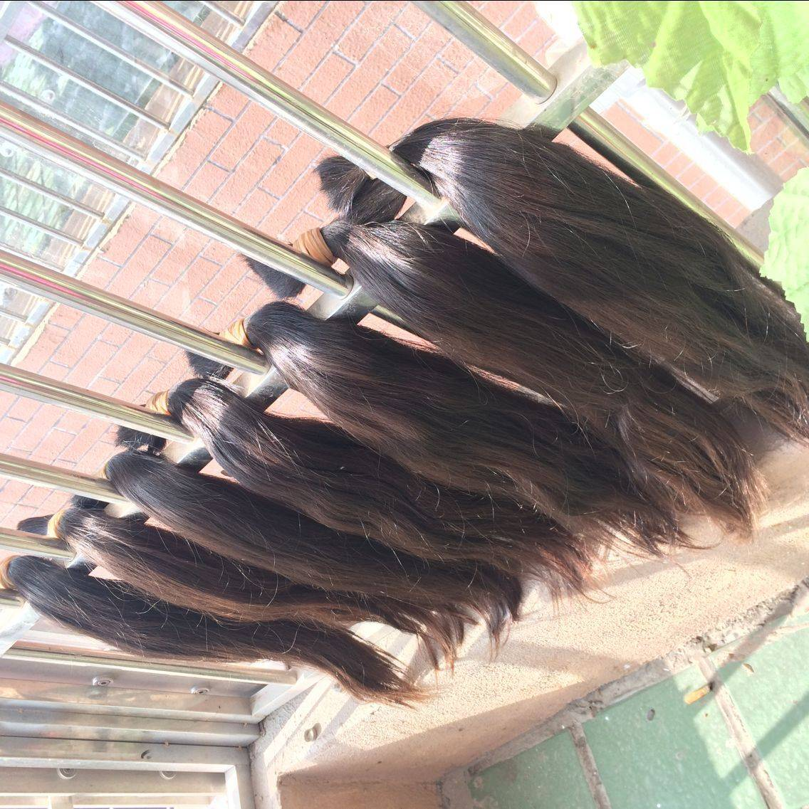 Best selling high quality products wholesale cheap virgin russian human hair bulk
