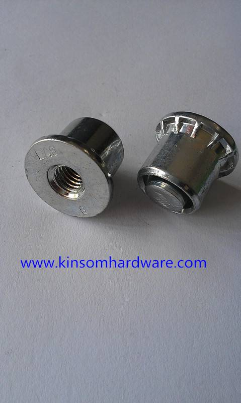 Self-clinching nuts used in electronics