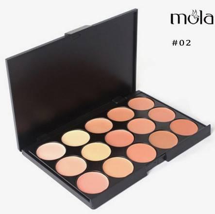 15 color creamy concealer palette