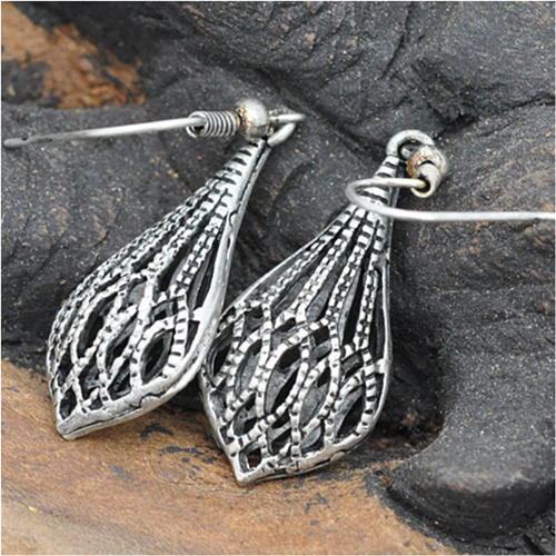 wholesale miao earrings drop water shape simple and beauty earrings for woman