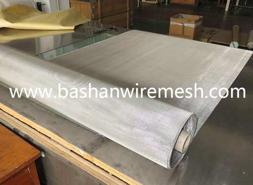 304 316 stainless steel woven wire mesh