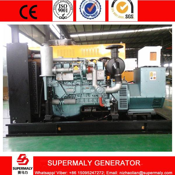 Supermaly 160KW 200KVA Natural Gas Generator set by Steyr Engine with CHP system