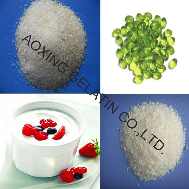 Gelatin powder bulk halal for capsules production