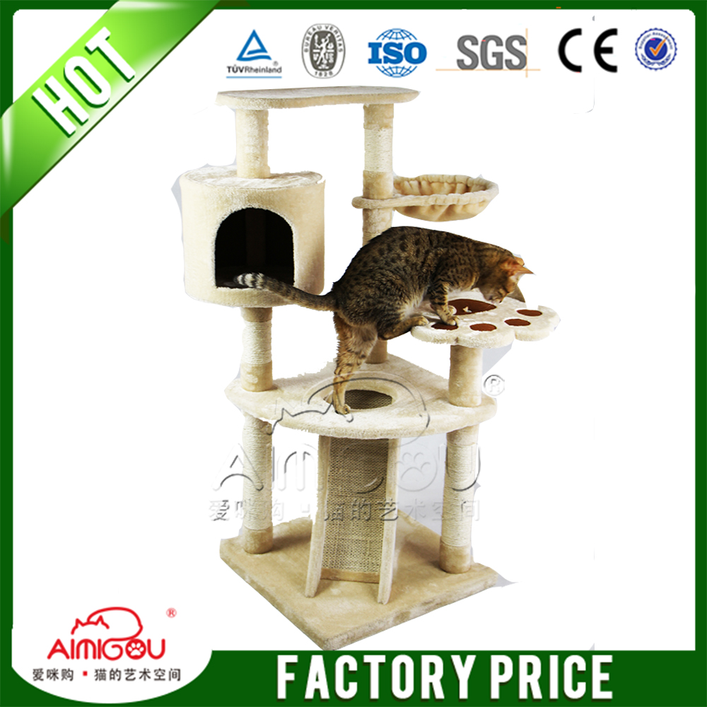 Best Sale Cat Tree Tower, Cheap Cat Houses, Pet Cat toy Scrather