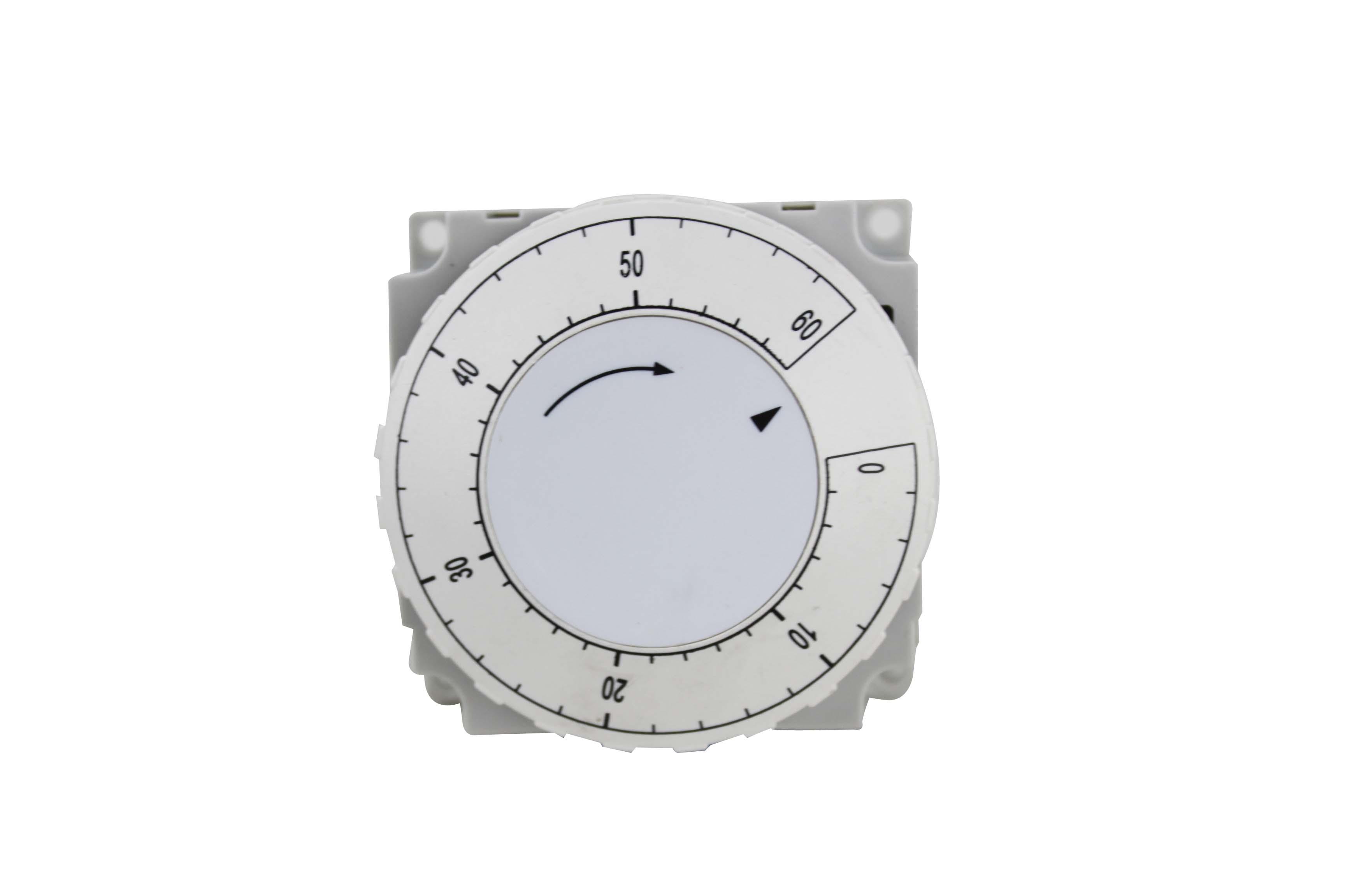 Mechanical countdown timer