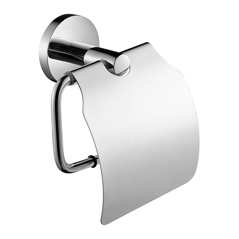 Hotel Ss Toilet Paper Holder With Lid