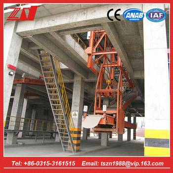 High efficiency automatic portable container loading conveyor