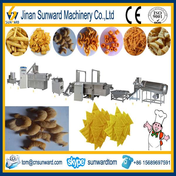 Fried Snack Food Processing Line Machinery