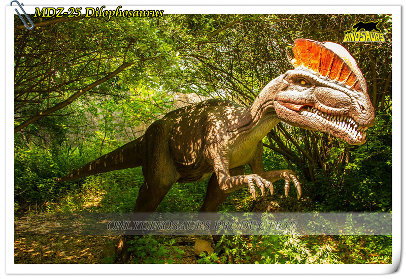 Animatronic Jurassic Dinosaurs theme park