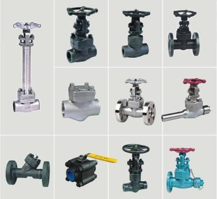 steel valve