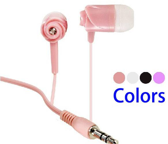 2014 hottest selling colorful in ear earphone