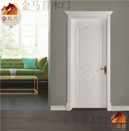 modern style with or without glass solid wood door